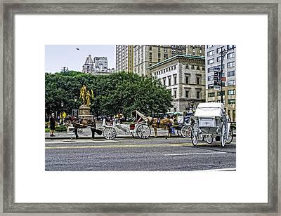 Grand Army Plaza - Manhattan Framed Print by Madeline Ellis