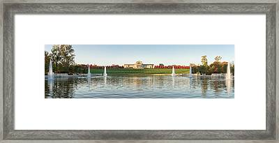 Grand Basin In Autumn Framed Print