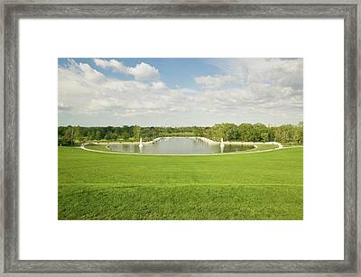 Grand Basin Looking From Top Of Art Framed Print