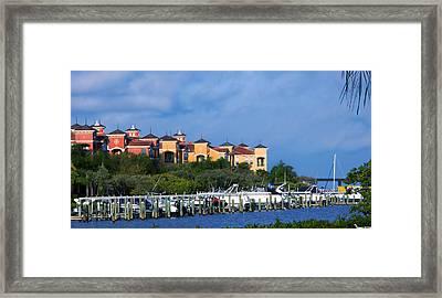 Grand Belagio On Tampa Bay Framed Print by Michael Kogan