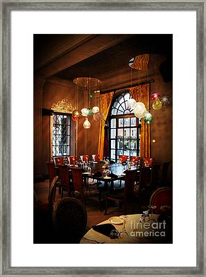 Grand Cafe Southampton Framed Print by Terri Waters