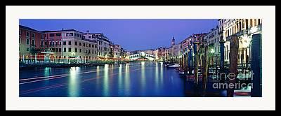Grande Canal Framed Prints