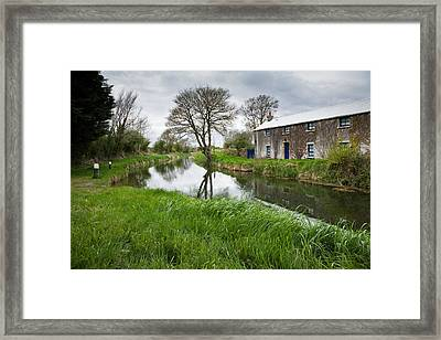 Grand Canal At Miltown Framed Print