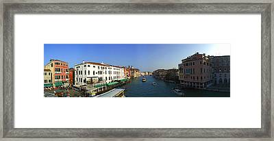 Grand Canal Framed Print by Gary Lobdell