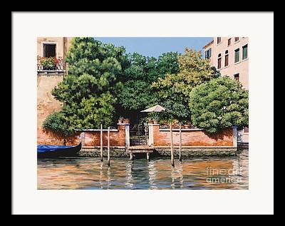 Venice Oasis Framed Prints