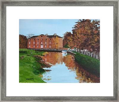 Grand Canal Robertstowm Framed Print