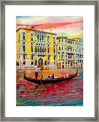 Grand Canal Framed Print by Steven Boone