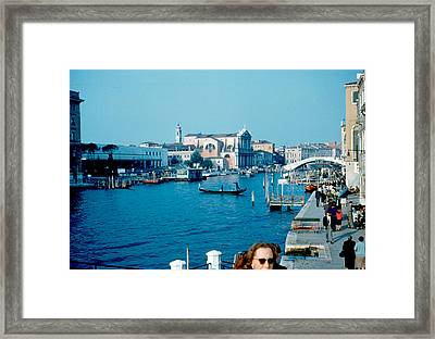 Grand Canal Venice 1961 Framed Print by Cumberland Warden