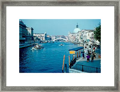 Grand Canal 1961 Framed Print by Cumberland Warden