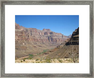 Grand Canyon - 121271 Framed Print by DC Photographer