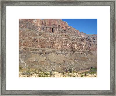 Grand Canyon - 121272 Framed Print by DC Photographer