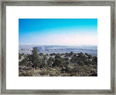 Framed Print featuring the photograph Grand Canyon 1972 by John Mathews