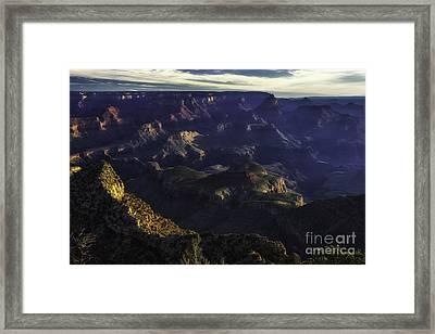 Grand Canyon 4 Framed Print by Richard Mason