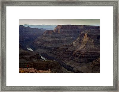 Grand Canyon And Colorado River Framed Print