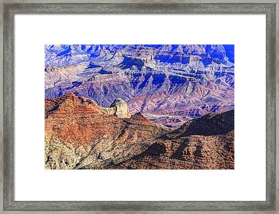 Grand Canyon And The Colorado River Framed Print