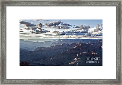Grand Canyon At Sunset Framed Print by Shishir Sathe