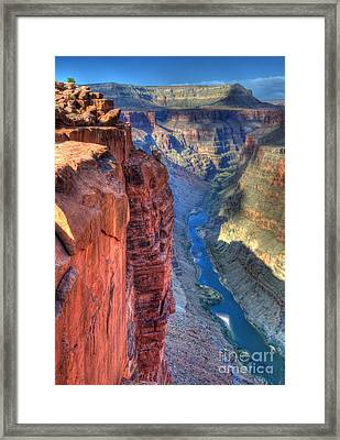 Grand Canyon Awe Inspiring Framed Print by Bob Christopher