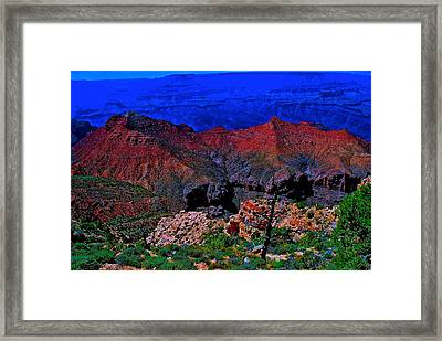 Grand Canyon Beauty Exposed Framed Print