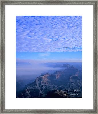 Grand Canyon Blues Framed Print by Alex Cassels