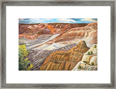 Grand Canyon Framed Print by Caroline Owen-Doar