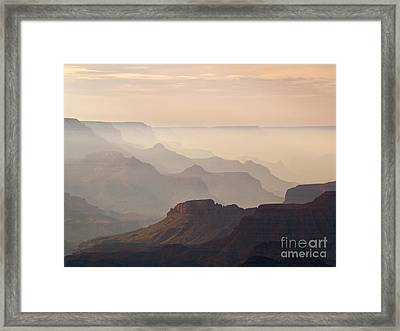 Grand Canyon From Lipan Point Framed Print by Alex Cassels
