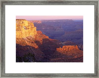 Grand Canyon From The South Rim Framed Print