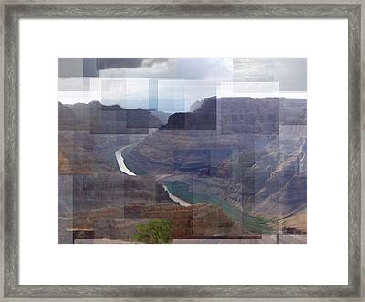 Grand Canyon Guano Point Framed Print
