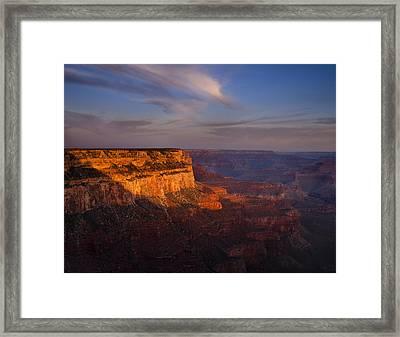 Grand Canyon Morning Framed Print by Andrew Soundarajan