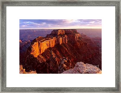 Grand Canyon North Rim Framed Print