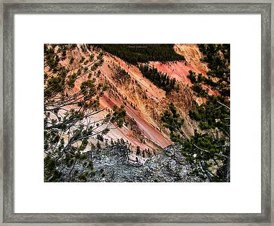Grand Canyon Of Yellowstone 6 Framed Print