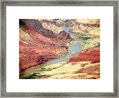 Grand Canyon River View Framed Print by John Potts