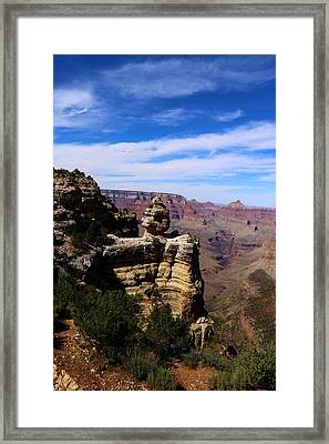 Grand Canyon Rocky Formation Framed Print