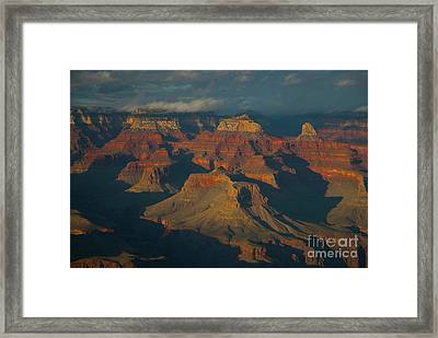 Framed Print featuring the photograph Grand Canyon by Rod Wiens