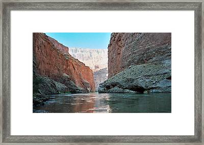 Framed Print featuring the photograph Grand Canyon Sky by Tony Mathews