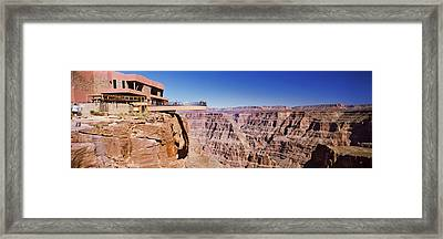 Grand Canyon Skywalk, Eagle Point, West Framed Print by Panoramic Images