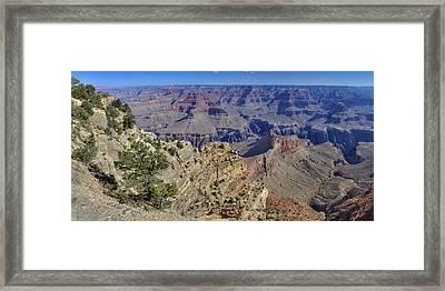Grand Canyon South Rim Framed Print by Patrick Jacquet