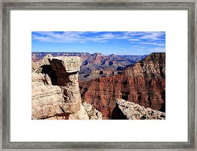 Grand Canyon - South Rim View Framed Print by Aidan Moran