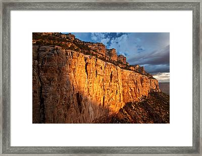 Grand Canyon Sunrise Framed Print by Kiril Kirkov