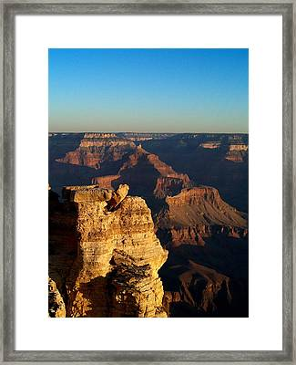 Grand Canyon Sunrise Two Framed Print