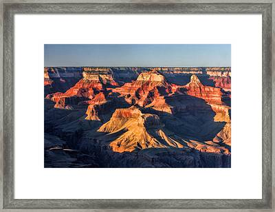 Grand Canyon Sunset Framed Print