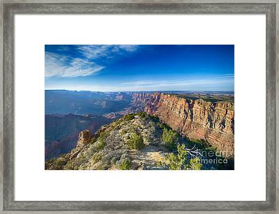Grand Canyon - Sunset Point Framed Print by Juergen Klust