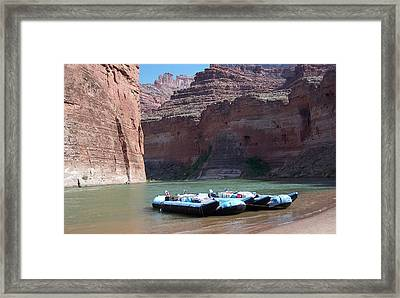 Framed Print featuring the photograph Grand Canyon by Tony Mathews