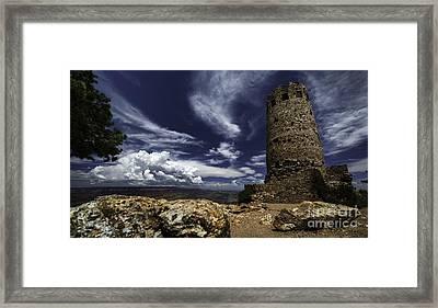Grand Canyon Tower 1 Framed Print by Richard Mason