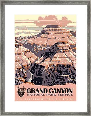 Grand Canyon Travel Framed Print