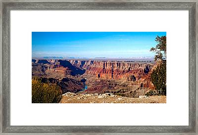 Grand Canyon Vast View Framed Print by Robert Bales