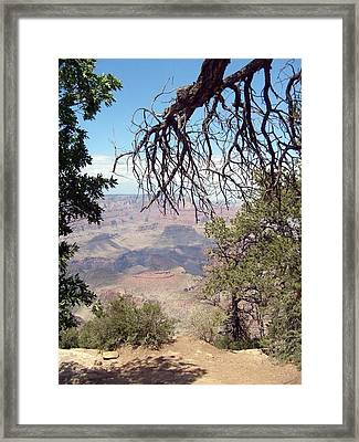 Grand Canyon View 1 Framed Print