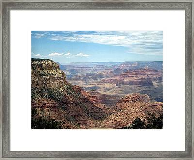 Grand Canyon View 3 Framed Print