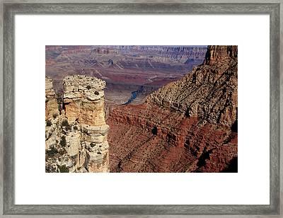 Grand Canyon View Framed Print by Aidan Moran