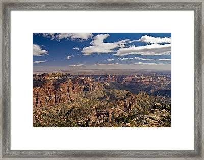 Grand Canyon View Framed Print by SEA Art