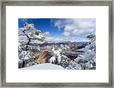 Grand Canyon Winter - 1 Framed Print